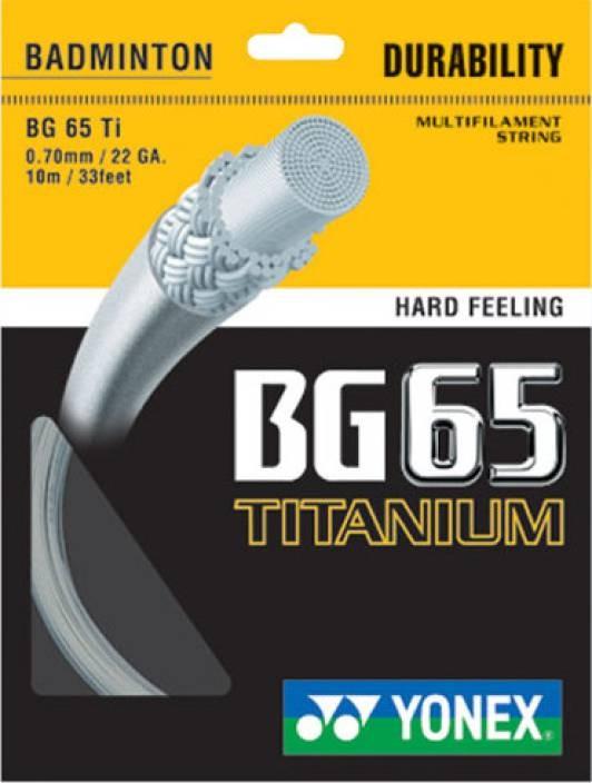 Yonex BG 65 Titanium - coil 200 m