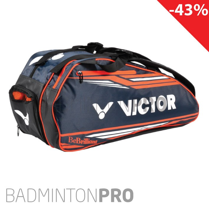 Victor Doublethermo Racketbag 9118 (2 compartiments)  corail