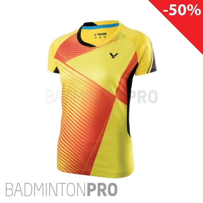 Victor Dames Shirt 6357 Geel Promotie