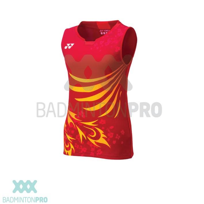 Yonex Heren Shirt Japan 10382EX Kurenai Rood