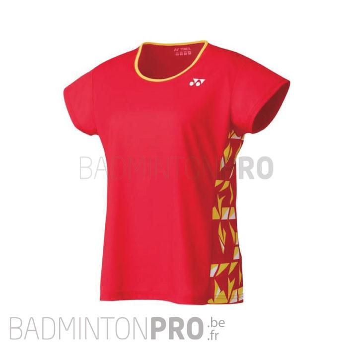 Yonex Dames Shirt 16442EX Flash Red